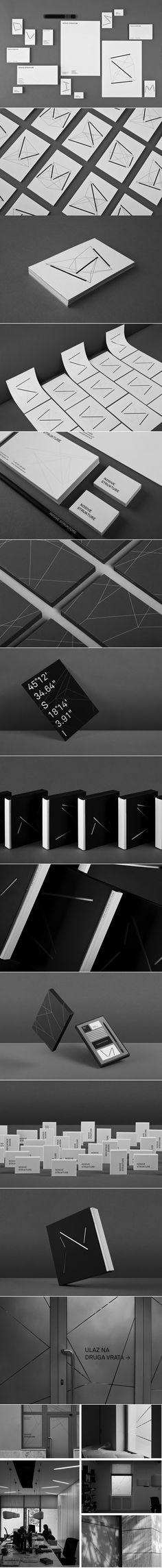 Nosive strukture by Bunch engineer design studio #branding #packaging PD