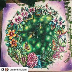 Super show!!!! By @dreams.colors  #Repost @dreams.colors (@get_repost) ・・・ Vagalumes!! #magicaljunglecoloringbook #magicaljungle #johanna #johannabasford #lapisdecor #pencils #pencilscolor #prismacolorpencil #prismacolor #chameleonpencils #art #coloringbook #coloringbookforadults #coloring #livrosdecolorir #livrosdecolorirparaadultos #vagalumes #luciferina #insetosfofos #boracolorirtop