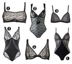 lingerie dentelle noire lemon curve