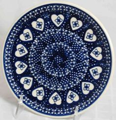 I love knowing this Polish pottery is handmade.