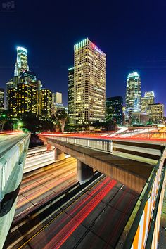 Lights in the Night! Downtown Los Angeles
