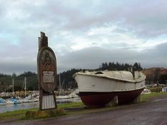 Winchester Bay, Oregon claims to be the Salmon Capitol of the world.