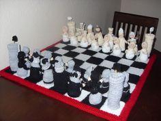 Alan Dart Chess Set