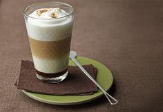 Delicia de café con castaña y almendra