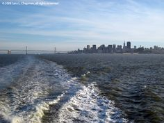 The Larkspur Ferry to San Francisco, California.
