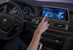 BMW iDrive Launches New Touchsceen Tech Along With Gesture Control