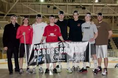 We had the pleasure of meeting some members of the Ontario Deaf Hockey Association yesterday during thier practice with the Canada Deaf Hockey Team right before they head off to Finland for the Championships! Here they are showing off thier Kobe Hats!! Keep an eye out for thier story in our 1st ever Newsletter coming out April 15th! #Hockey #Canada #Ontario