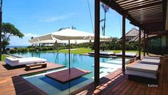 This is where our wedding took place! Beautiful Villa Shalimar @Rachael Hemmings Seseh, Bali - via www.balion.com