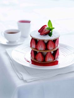 Strawberry shortbread   RECIPE MARCO PIERRE WHITE PHOTOGRAPHY BEN DEARNLEY STYLING VANESSA AUSTIN AND LISA FEATHERBY