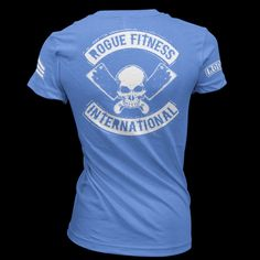 Rogue Women's International T-Shirt Gym Gear, Workout Gear, Crossfit Clothes, T Shirt Time, Rogue Fitness, Lifestyle Clothing, Rogues, Mens Tees, Shirt Designs
