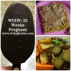 A Day of Eats at 32 weeks pregnant!