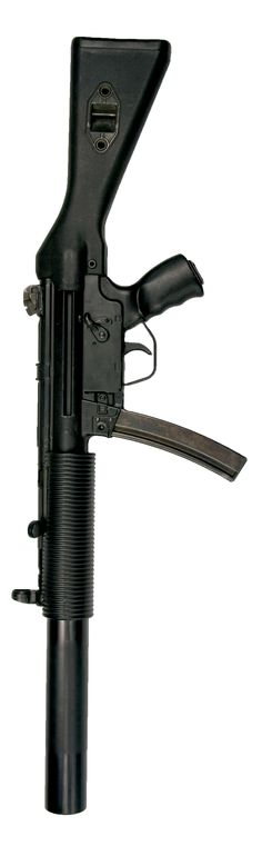HK MP5SD. the best close quarter weapon