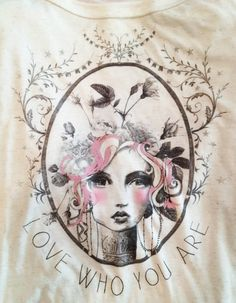 "Anahata Katkin's new line of clothing, ""LEELAH"" is coming out soon. Love her arty designs."