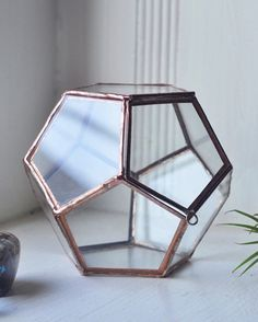 Universe Terrarium Kit, small dodecahedron glass