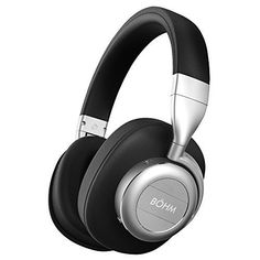 BÖHM Wireless Bluetooth Over Ear Cushioned Headphones with Active Noise Cancelling   B76 #BÖHM #Wireless #Bluetooth #Over #Cushioned #Headphones #with #Active #Noise #Cancelling