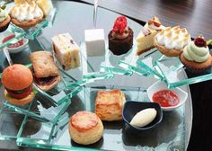Afternoon tea set of CONRAD TOKYO.