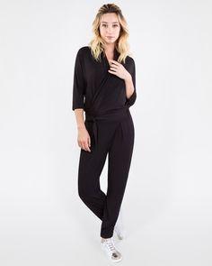 eb9713eba407 Les Lunes Paul Jumpsuit Black Comfortable Outfits