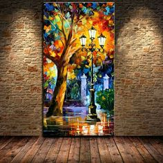 Cheap decorative painting pictures, Buy Quality decorative wood painting directly China painting sunrise Suppliers: Large Handpainted Abstract Modern Wall Painting Rain Tree Road Palette Knife Oil Painting On Canvas Wall Decor Ho Rain Painting, Palette Knife Painting, Oil Painting On Canvas, Painting Abstract, Palette Wall, Large Painting, Wall Art Pictures, Pictures To Paint, Painting Pictures