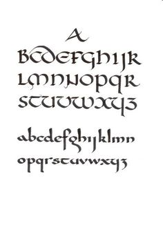 The history of writing over years, including the Carolingian script (shown here on the bottom). Creative Lettering, Lettering Styles, Brush Lettering, How To Write Calligraphy, Calligraphy Letters, Carolingian, Hand Lettering Alphabet, Letter Fonts, Hand Lettering Tutorial