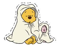 LINE Official Stickers - Winnie The Pooh Animated Stickers Example with GIF Animation Cute Winnie The Pooh, Winne The Pooh, Winnie The Pooh Quotes, Disney Films, Disney Villains, Disney Characters, Pooh Bear, Tigger, Baby Piglets