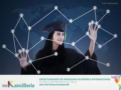 La Cancillería hace una nueva entrega de su boletín de Oportunidades, en esta ocasión MBAs y programas de maestría para interesados en el campo de los Negocios Internacionales.   Conózcalas en: http://uklz.info/COportunidades06