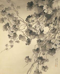 松林桂月 「雨後」 一九五五年 個人蔵