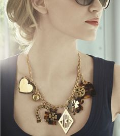 """Equestrian style """"statement necklace"""""""