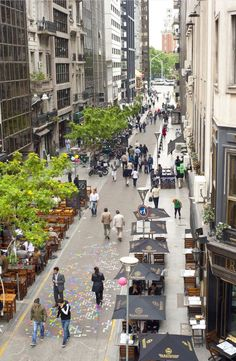 Example of walkable space in Argentina