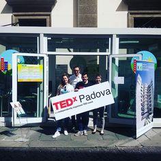 clatreg parla di #TEDxPadova su Instagram #tedxpadova #domaniora #IRPGalileoFestival #cittàdellasperanza