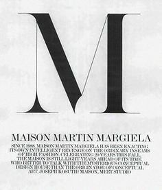 Martin Margiela, Fashion, Design, Student, Inspiration, Audience & Context, Degree, Report, Sustainability