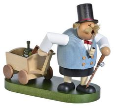 KWO German Incense Smoker CHUBBY MAN MAKING FATHERS DAY TRIP #KWO