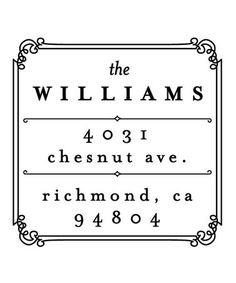 Take a look at this Williams Personalized Self-Inking Stamp by Mason Row on #zulily today!