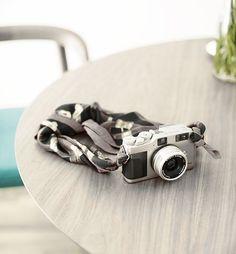 Camera strap. #scarf #diy #cute