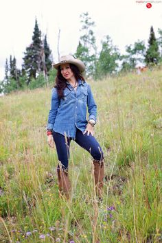 Join me in Montana - Cowgirl Weekend. Active adventures, gourmet food, wine tasting, horseback riding, fly fishing, shoot guns! ( @marlameridith ) MarlaMeridith.com