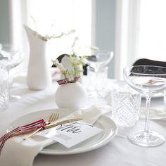 5 kjappe tips til bordet - Pictureit. Er 5, Summertime, Table Settings, Table Decorations, Tips, Home Decor, Decoration Home, Room Decor, Place Settings