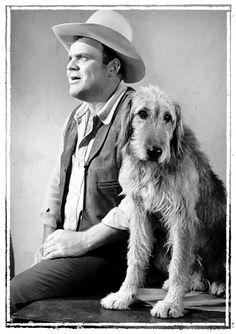 Hoss and Walter, the prodigious dog (Bonanza)