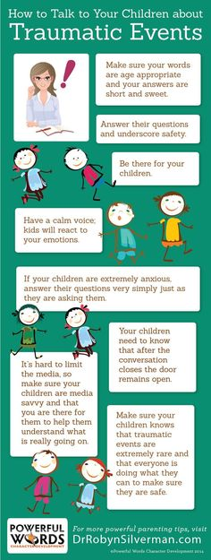How to talk to your children about traumatic events #drrobyn #parenting
