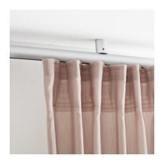 KVARTAL Ceiling fixture - IKEA - combine with Kvartal track to create a ceiling-mounted curtain rod