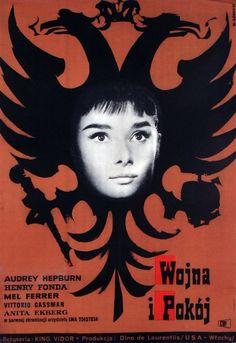 War and Peace, Polish Movie Poster: Polish Posters Shop