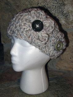 DIY flower crochet headband using bulky yarn, easy pattern to follow, took 30-40 minutes.