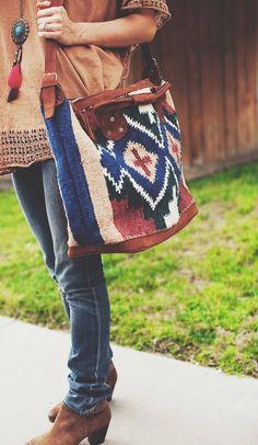Carpet style bag