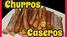 Churros - Caseros (sin churrera)