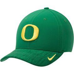 new style f88a7 2fc8b Oregon Ducks Nike Sideline Coaches Swoosh Performance Flex Hat - Green