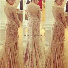 Cream Wedding Kebaya Verakebaya find more women fashion ideas on www.misspool.com