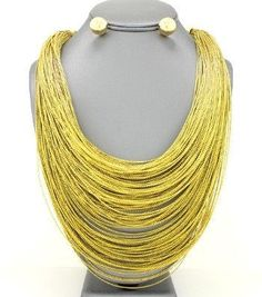 Layered Thread Necklace