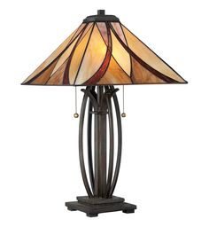 Quoizel - TF1180TVA - Asheville Valiant Bronze Table Lamp