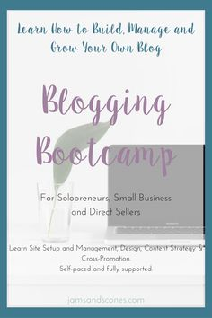 Sassy Suite Blogging Bootcamp for Direct Sales, Solopreneurs and Small Business