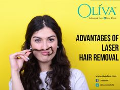Removing the unwanted hair can be a uphill task with inconvenience faced for waxing rashes and painful nicks from shaving. Get permanent and painfree #laserhairremoval @OlivaClinics.