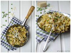 Pasta, Erbsen, Nudeln, Kochen, Jamie Oliver, Pasta mit Speck und Minze