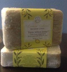 Trader Joe's Lemon Verbena 2 Bar Soap Vegetable Oil Shea Butter France 7 oz #TraderJoes